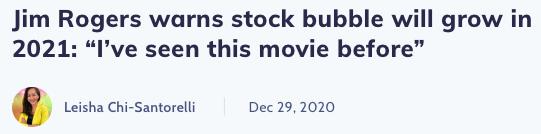 Stock Bubble Prediction
