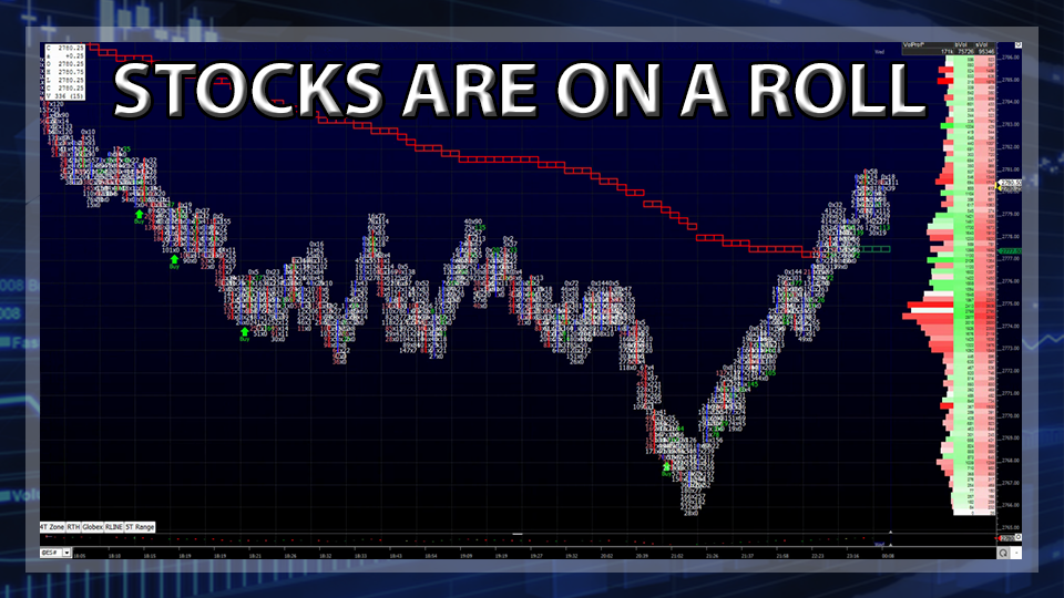 Stocks Are On A Roll