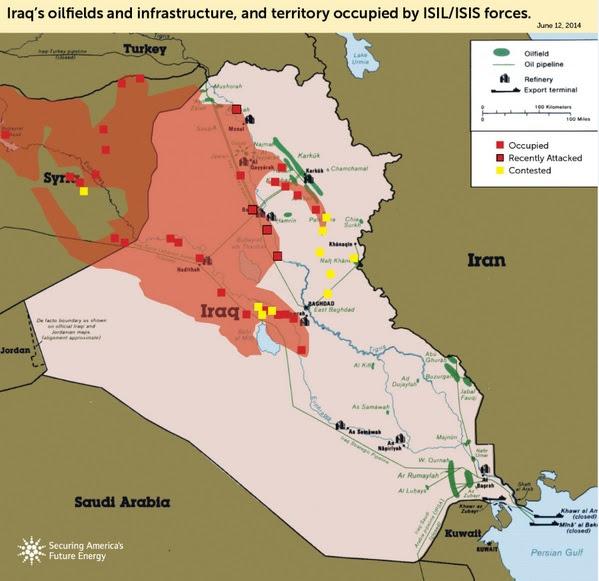 Iraq's Oilfields