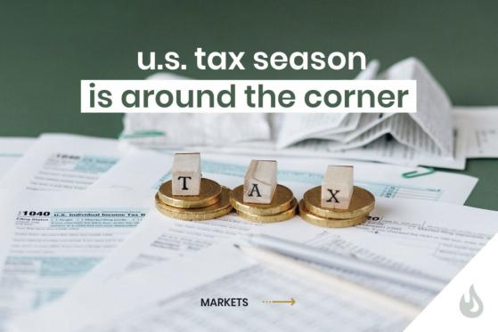 U.S. Tax Season Is Around The Corner: Here's How It Affects Cryptos