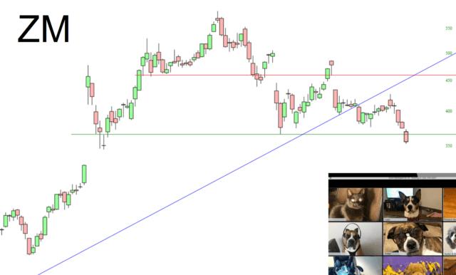 Zoom Communications Chart.