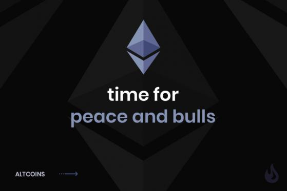 Time for Peace and Bulls a case for Ethereum