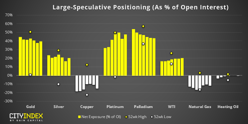 Commodities - Large Speculative Positioning