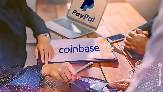 Coinbase Partners With US Paypal, Allows up to $25k Crypto Purchases