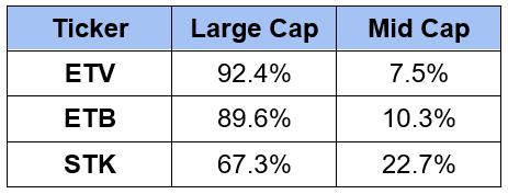 Large Cap Mid Cap Split