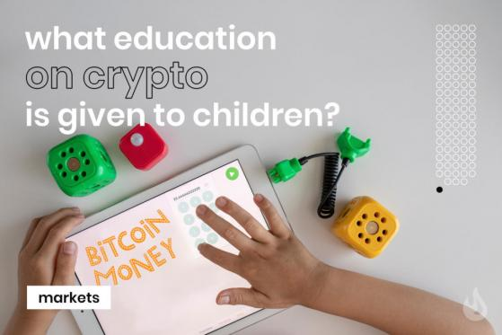Are children learning about crypto ?