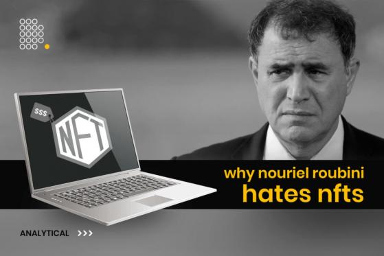 Nouriel Roubini Targets Non-Fungible Tokens