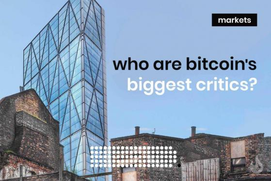 Bitcoin's Biggest Critics And Their Concerns
