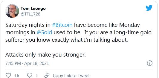 Tom Luongo Tweet