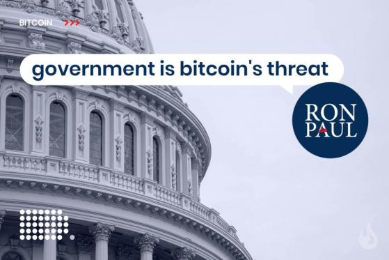 Ron Paul Warns of Government Crackdown on Bitcoin – Is the Government a Threat?