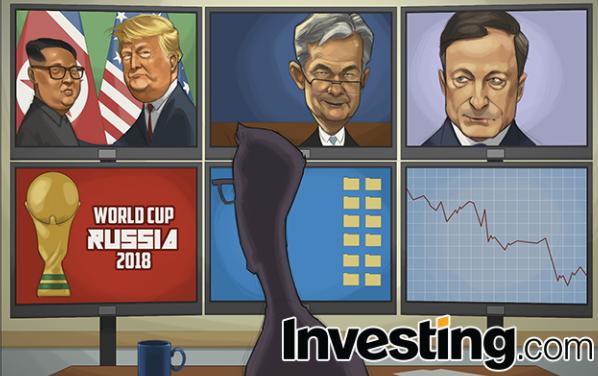 Trump/Kim Summit, Fed, ECB and World Cup