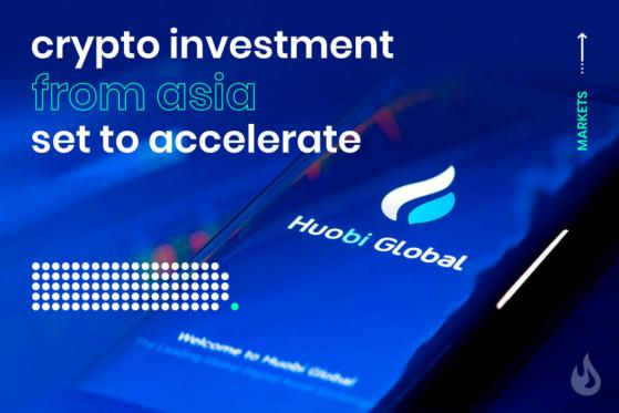 Crypto Investment From Asia Set to Accelerate