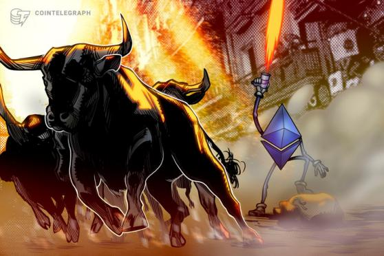 Ether Price Nears $300 as Bitcoin, DeFi Tokens Fuel New Bull Run