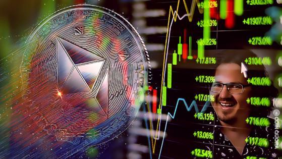 Lark Davis: Ethereum Can Surge Over 550% and Crash Bitcoin