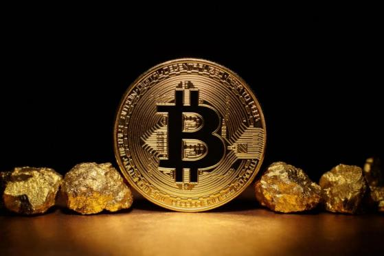 Bitcoin is a rival to gold, bank president says