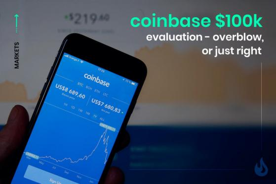 Is The $100B Valuation Of Coinbase A Fair Estimate?