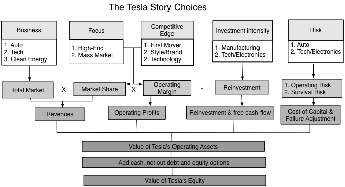 Tesla Story Choices