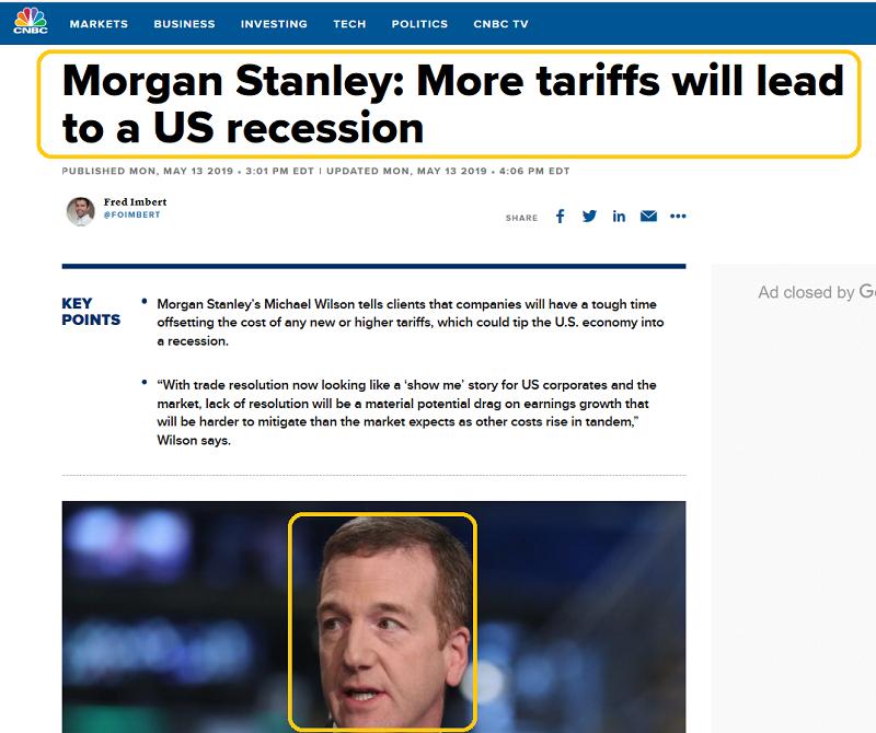 CNBC On Tariffs