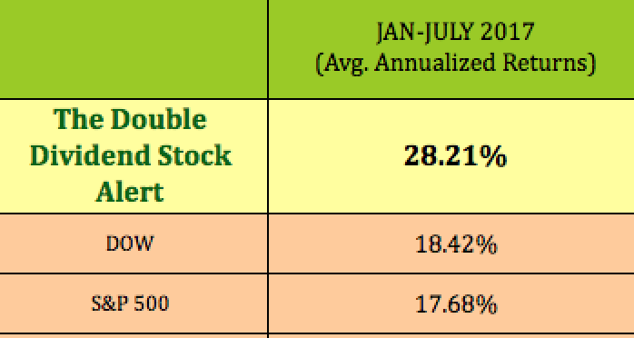 The Double Dividend Stock