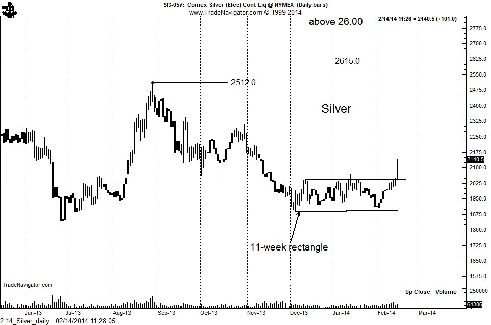Silver: Daily