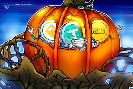 Stablecoin On-Chain Activity Explodes as Bitcoin Breaks $11K