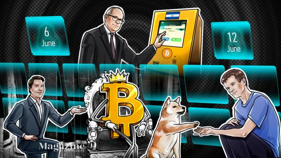 A new milestone for Bitcoin, COVID hits conference, Buterin's DOGE payday: Hodler's Digest, June 6–12