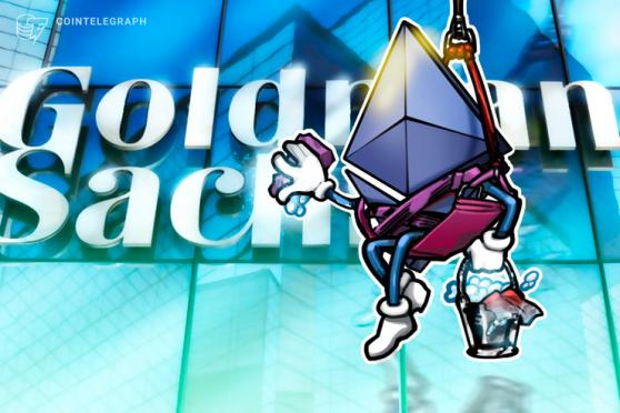 Goldman Sachs' crypto trading desk expands to Ether