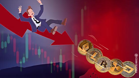 Crypto Market Crashes, Bitcoin at $33,000