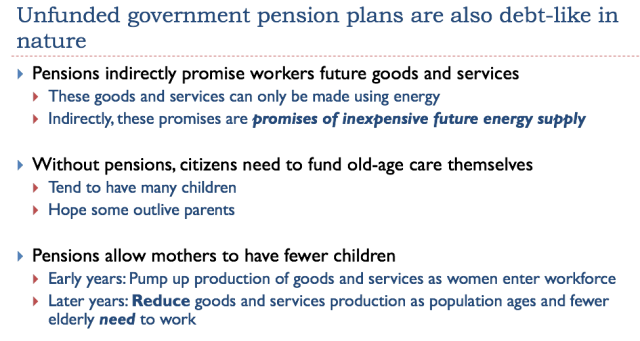 Unfunded Government Pension