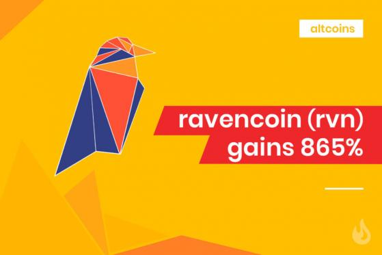 Ravencoin Spikes As Interest In Tokenized Securities Grows