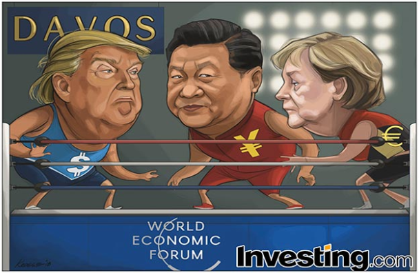 Fear of Trade War as Trump Heads to Davos