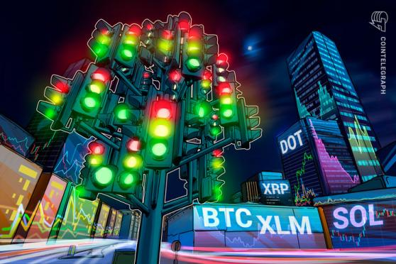 Top 5 cryptocurrencies to watch this week: BTC, XRP, DOT, XLM, SOL