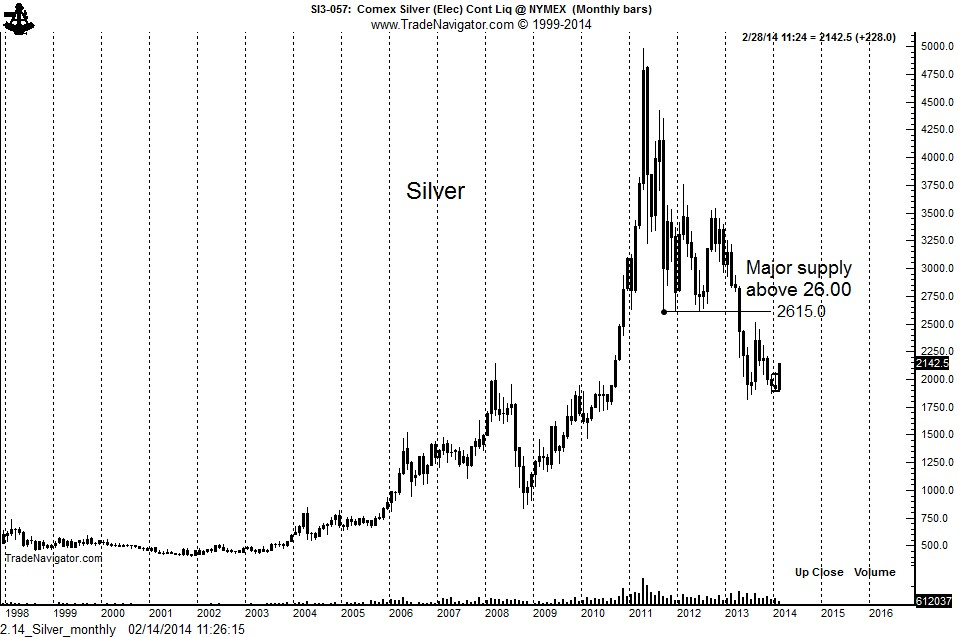 Silver: Monthly