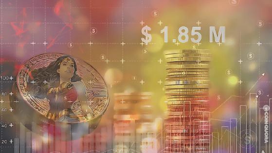 Wonder Woman Crypto Artwork NFTs Sells for $1.85 Million