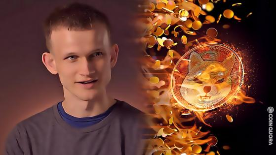 Vitalik Buterin Burns 410 Trillion SHIB After Donating to India Relief Fund