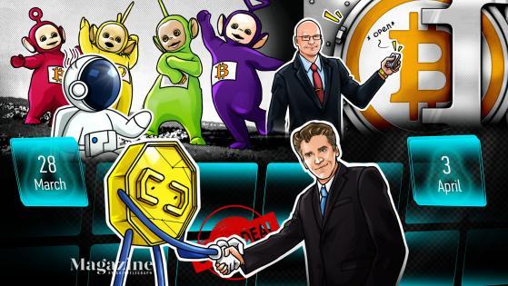 ETH smashes records, Bitcoin's brilliant quarter, PayPal's big move: Hodler's Digest, March 28–April 3