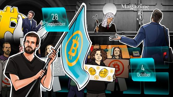 BitMEX charges, Bitcoin stays calm, KuCoin 'identifies' hack suspects: Hodler's Digest, Sept. 28–Oct. 4
