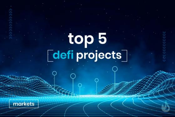 Top 5 DeFi Projects by Market Capitalization