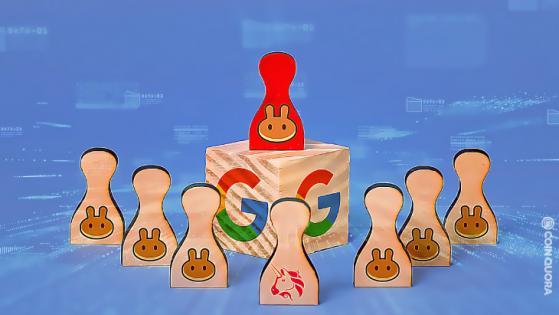 PancakeSwap Google Search Surge 3 Times More Than UniSwap