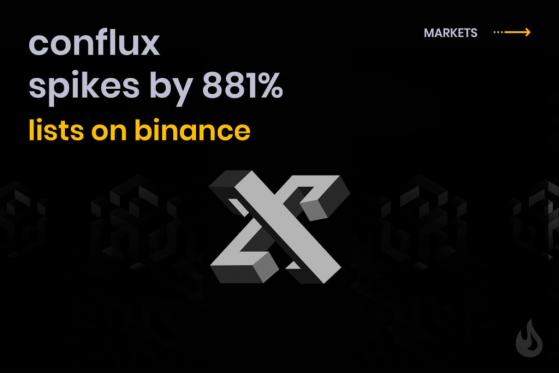 Conflux (CFX) Opens On Binance After 3-Month Meteoric 881% Rise