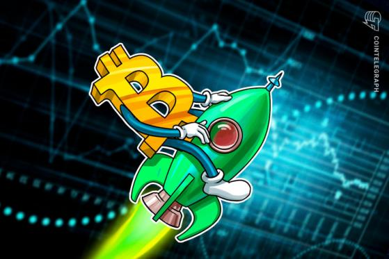 $18K Bitcoin price, eh? BTC market cap may pass Canada's monetary base