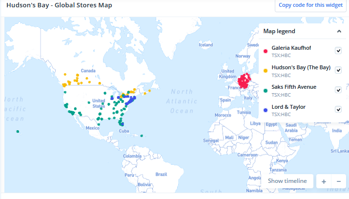 Global Stores Map