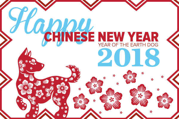 Chinese New Year 2018 Earth dog