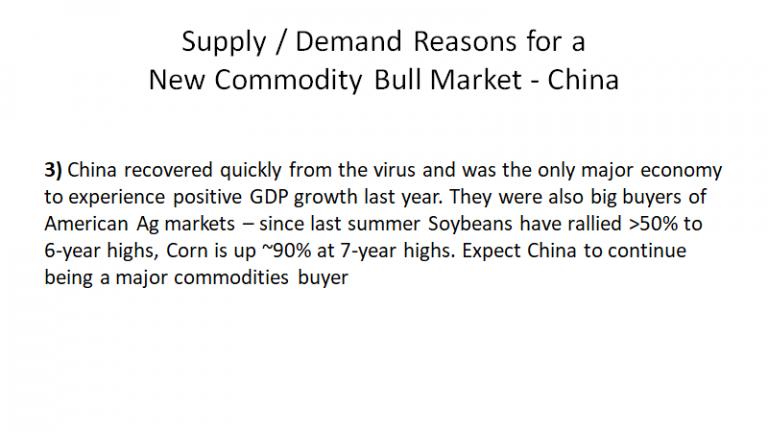 New Commodity Bull Market - China