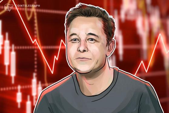 Musk no longer world's richest man after Tesla and Bitcoin slump