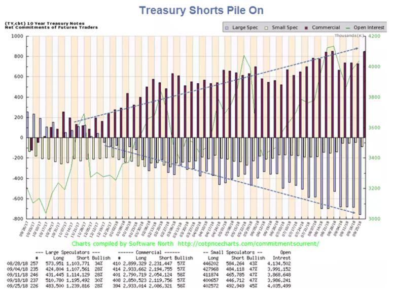 Treasury Shorts Pile On