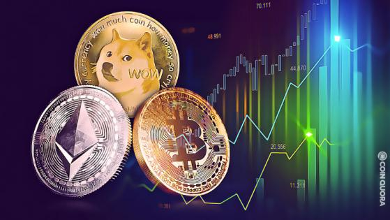Bitcoin, Ethereum, and DOGE Reach new ATHs on Same Day By CoinQuora