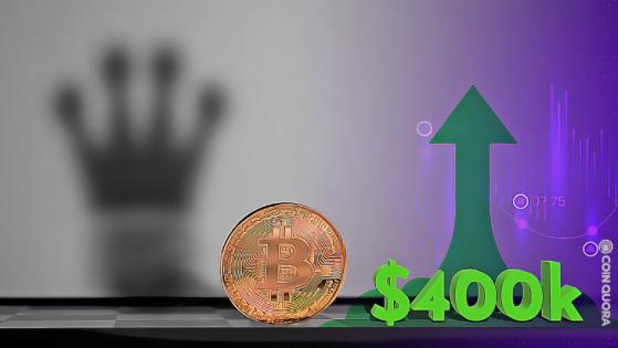Bitcoin Could See Huge Surge From Current Value to $400K