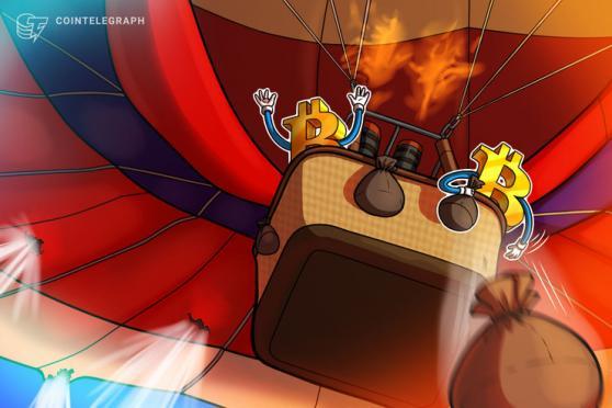 Crypto market cap falls by $113B as Bitcoin price tumbles to $28,750