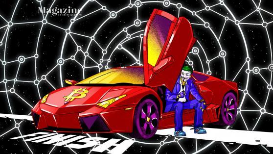 We tracked down the original Bitcoin Lambo guy
